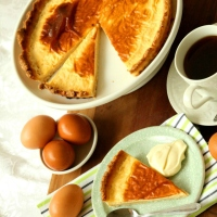 A healthier Egg Custard Tart? Are you for real? YES WE ARE!
