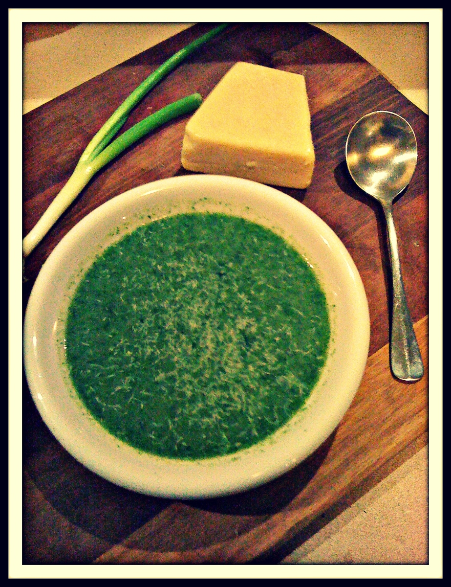 The Green Machine: Nutritious soup